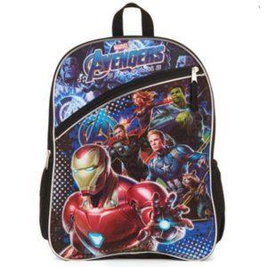 """NWOT Marvel Avengers Endgame 16"""" Backpack"""